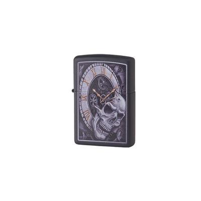 Zippo Black Slull With CLock - LG-ZIP-29854 - 400