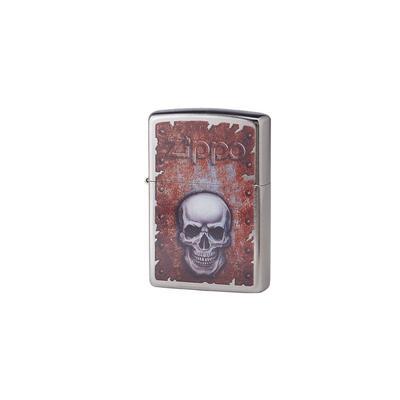 Zippo Street Chrome Skull - LG-ZIP-29870 - 400
