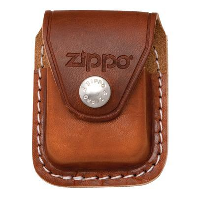 Zippo Brown Pouch W/Clip - MI-ZIP-LPCB - 400