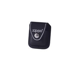 Zippo Black Pouch W/Clip - MI-ZIP-LPCBK - 400